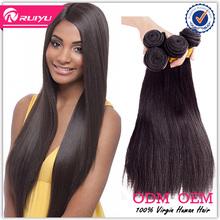 Natural quality premium peruvian hairstyles for long black hair