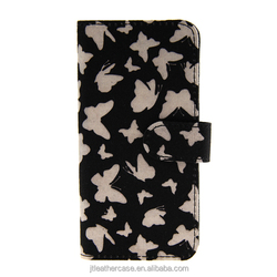 2014 New Product Canvas butterfly cell phone case for iPhone 5 HQ Full Body Screen Protector