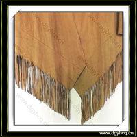 Hot sale !!Fashion punk tassel fringe vintage suede leather for garment