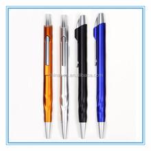 Simple design promotional plastic ballpen, ball pen