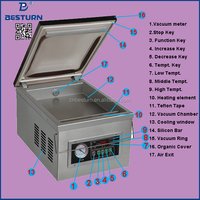 DZ-260PD vacuum packing machine TABLE TYPE household price for meat