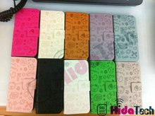 Magic Girl Leather Case for Apple iPhone5 5G,for iphone5 5G horizontal magic girl PU leather case