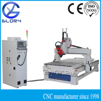 4 Axis ATC CNC Router with HSD 9KW Spindle, Rotating Head, Vacuum Table, Syntec Controller, Servo Motor