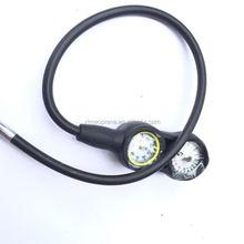 scuba regulator diving snorkel regulators consolated gauges with pressure gauge&depth gauge