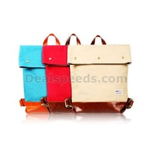 Remax 207 Retro Style Canvas Backpack Shoulder Bag for Laptop iPad iPhone Samsung etc