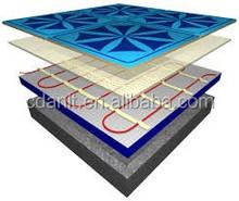 Bathroom underfloor heating cable mat