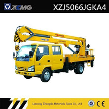 14M Truck Mounted Hydraulic Lift Articulated Boom Aerial lift Platform
