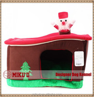 2015 New Christmas Wholesale Top-Luxury Christmas Tree Pet Dog House, Dog Kennel, Pet Dog Bed