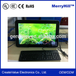 New Design All In One Desktop Computer 15/17/19/22 Inch USB WIFI Android Tablet External Keyboard