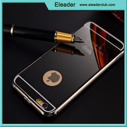 Luxury Aluminum Ultra-thin Mirror Metal Case Cover for iPhone 6/ 6+ Plus