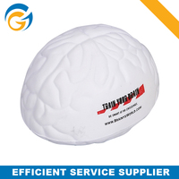 Brain Shaped PU Stress Relieve Ball