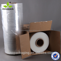 Wholesale Transparent LLDPE Plastic uv protection stretch film for Machine Packaging