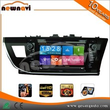 8 inch TFT HD touch screen accessories car stereo with GPS BT IPOD AM/FM 3G WIFI 1080P TV tuner for TOYOTA Corolla RHD 2013-