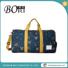 cylinder canvas duffel bag with secret compartment