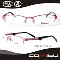 con alta calidad al por mayor los anteojos de metal marcos ópticos
