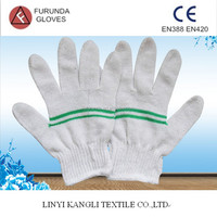 Good price cotton hand gloves for safety
