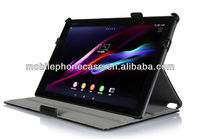 2015 hot selling tablet case with hand guard for Sony Xperia Tablet Z2