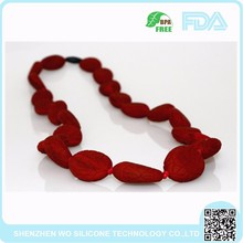 HOT Christmas gift Exquisite silicone necklace foe teething practice