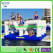 2015 Enjoy funny inflatable pool toy, newest inflatable pool toys, inflatable pool lounge float island