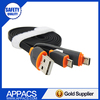 China Factory Portable Mulptiple 2 in 1 USB Cable Mini Data Cable for Android Iphone Charging