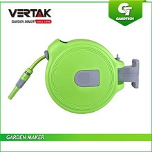Garden tools leader good quality 20m auto rewind water hose reel