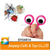 New product flashing finger puppet toy eye puppet ring for children