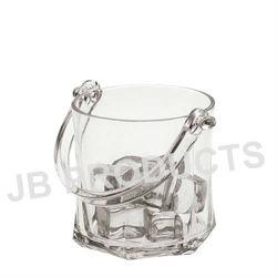 Ice Bucket,Clear Plastic Ice Bucket,Wine Cooler