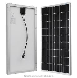 100 Watt 12v Monocrystalline Solar Panel 100W Brand New 100 Watts 12 Volts Monocrystalline Solar Panel