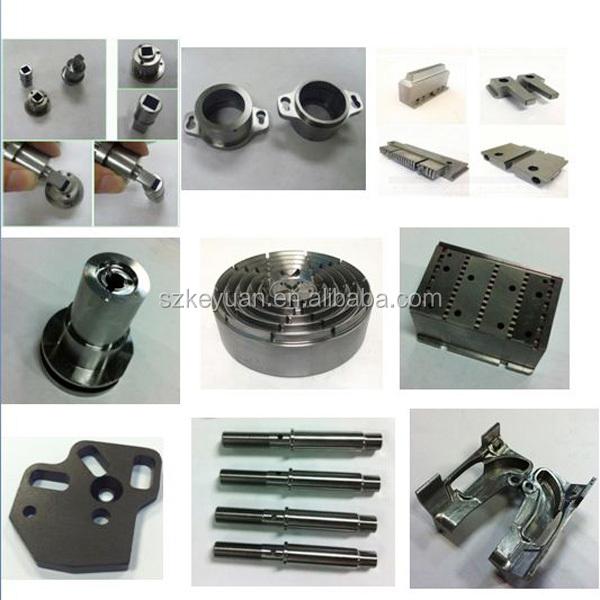 en aluminium anodisé cnc pièces