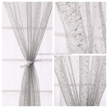 2015 New Innovative Products Home Textlie Window Curtains For Christmas