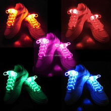 Hot sell new fashion plastic glowing gifts Led shoelace for party