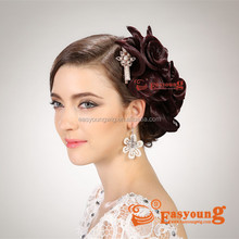 Bride Wedding hair products, synthetic beauty salon hair accessories