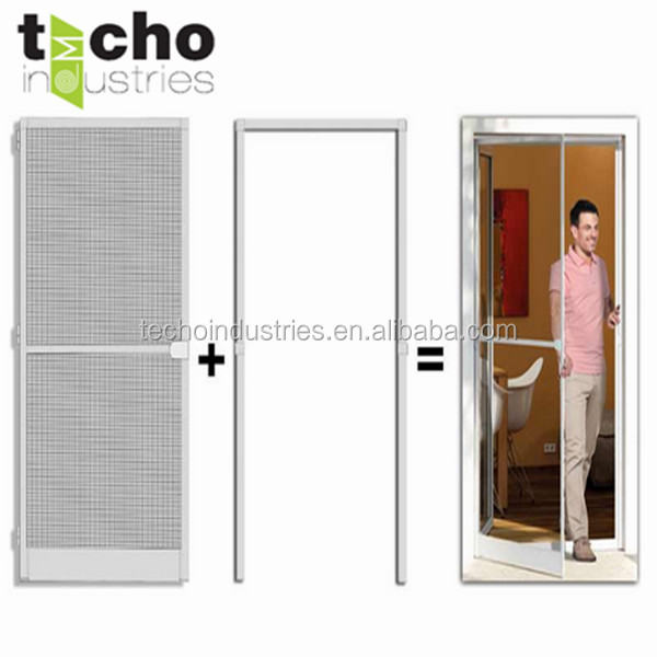 Diy Anti - Mosquito Screen Door Aluminum Frame Window Screen Door ...