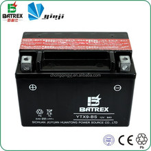 Maintenance-Free Battery 12V 7Ah Lead Acid Battery For Motorcycle
