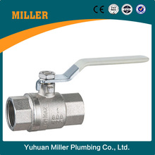 1/2''--4'' Brass Ball valve male threaded oil and gas