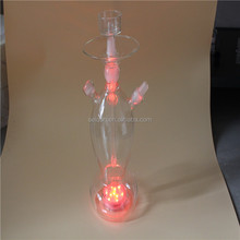 clean mix color glass hookah shisha glass hookah al fakher
