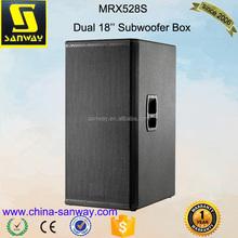 MRX528S 10000W Professional Subwoofer Dual 18