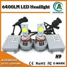 Best seller luxury 6400LM LED headlight H9 H10 H11 H8