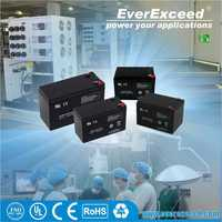 EverExceed 12v 18ah deep cycle sealed lead acid battery