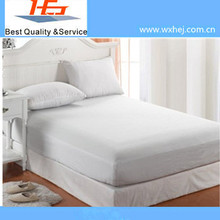 Percale Style Fitted Sheet for Home /Hotel/Hospital