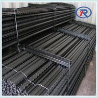 Black painted Israel metal fence posts y fencing steel post for sale