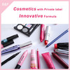 Eyeshadow set,cosmetic with private label china factory professional makeup brush kit