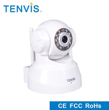 Hottest TENVIS hd 720p p2p ip webcam with night vision, best wifi ip camera wireless webcam