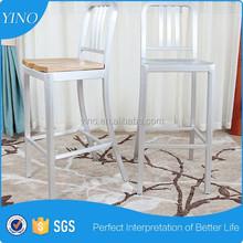 Aluminum Frame Style Golden Chair Bar Stool Y1012
