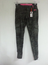 Ladies Skintight Cargo Camo Pant (Garment Stock lots / Apparel Stock / stocklots / Garment Apparel from Sri Lanka )