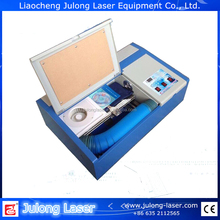 made in China 200*300mm JL brand CO2 desktop mini laser engraving machine 40W CE for wooden board
