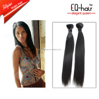 graceful hot selling 5A grade fullhead silky straight easy clips hair extensions