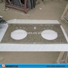 tropical brown granite vanity top