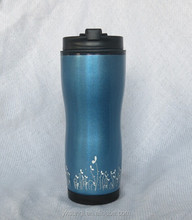 Attractive stainless steel thermal travel mug