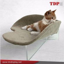 luxury acrylic cat bed,kitty bed